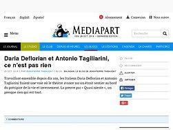 Daria Deflorian et Antonio Tagiliarini, ce n'est pas rien