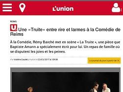 Une «Truite» entre rire et larmes à la Comédie de Reims