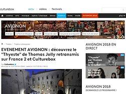 """Découvrez le """"Thyeste"""" de Thomas Jolly retransmis sur France 2 et Culturebox"""