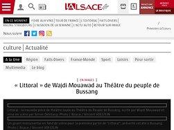« Littoral » de Wajdi Mouawad au Théâtre du peuple de Bussang