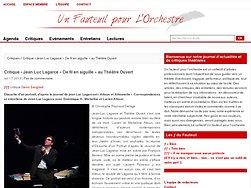 Jean Luc Lagarce « De fil en aiguille » au Théâtre Ouvert
