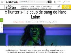 «Hunter»: le coup de sang de Marc Lainé