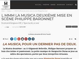 """""""La Musica"""", pour un dernier pas de deux"""