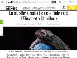 Le sublime ballet des «Reines» d'Elisabeth Chailloux