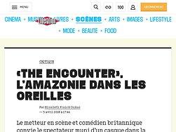 «The Encounter», lâ€'Amazoniedans les oreilles