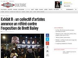 un collectif d'artistes annonce un référé contre l'exposition de Brett Bailey