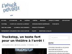 Truckstop, un texte fort pour un théâtre à l'arrêt !