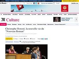 """Christophe Honoré, la nouvelle vie du """"Nouveau Roman"""""""