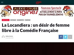 La Locandiera : un désir de femme libre à la Comédie Française