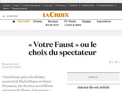 « Votre Faust » ou le choix du spectateur