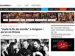 """""""Juste la fin du monde"""" à Avignon : qu'on en finisse"""