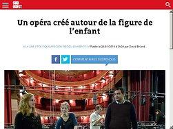 Un opéra créé autour de la figure de l'enfant