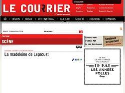 La madeleine de Leproust