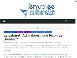 """Le cabaret """"Achnabour"""", une leçon de théâtre ?"""