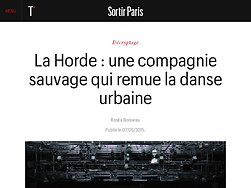 La Horde : une compagnie sauvage qui remue la danse urbaine