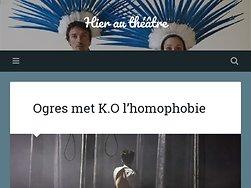 Ogres met K.O l'homophobie