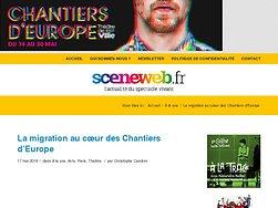 La migration au cœur des Chantiers d'Europe