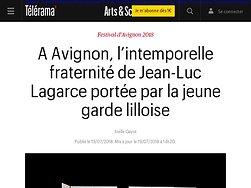 A Avignon, l'intemporelle fraternité de Jean-Luc Lagarce portée par la jeune garde lilloise