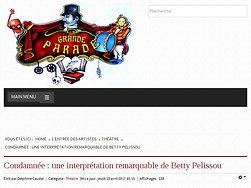 Condamnée : une interprétation remarquable de Betty Pelissou