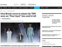 """Irina Brook ouvre la saison du TNN avec un """"Peer Gynt"""" très rock'n'roll"""
