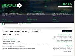 Karamazov, un cri aux étoiles.