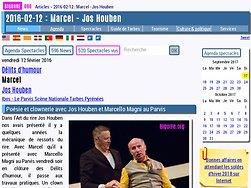 Poésie et clownerie avec Jos Houben et Marcello Magni au Parvis