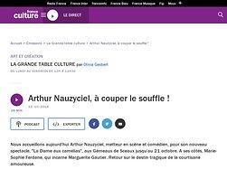 Arthur Nauzyciel, à couper le souffle !