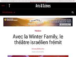 Avec la Winter Family, le théâtre israélien frémit