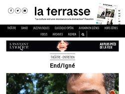End/Igné traite de l'immolation en Algérie.