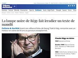 La lampe noire de Régy fait irradier un texte de maudit