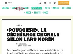 «Poussière», la déchéance  chorale selon Lars Noren
