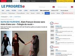 Alain Françon brosse sans états d'âme une « Trilogie du revoir »