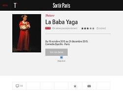 La Baba Yaga : on aime passionnément !