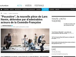 """""""Poussière"""", la nouvelle pièce de Lars Norén, défendue par d'admirables acteurs de la Comédie-Française"""