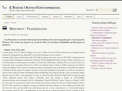 Monument : Trans(e)danse