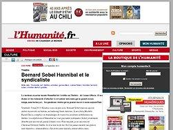 Bernard Sobel Hannibal et le syndicaliste