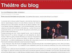 Festival mondial des théâtres de marionnettes : La Conférence des oiseaux