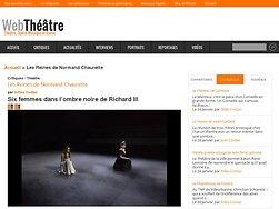 Six femmes dans l'ombre noire de Richard III