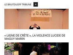 «Ligne de crête», la violence lucide de Maguy Marin