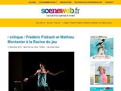 Frédéric Fisbach et Mathieu Montanier à la Racine du jeu