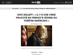 Entretien avec Nick Millett