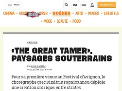 «The Great Tamer», paysages souterrains