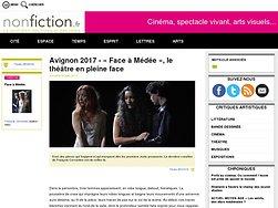 «Face à Médée», le théâtre en pleine face