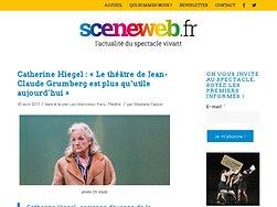 Catherine Hiegel : « Le théâtre de Jean-Claude Grumberg est plus qu'utile aujourd'hui »