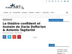 Le théâtre confident et humain de Daria Deflorian & Antonio Tagliarini