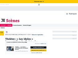 «Les Idoles» immortelles de Christophe Honoré