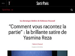 La brillante satire de Yasmina Reza