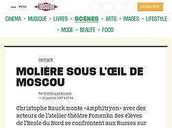 Molière sous l'oeil de Moscou