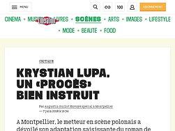 Krystian Lupa, un «Procès» bieninstruit