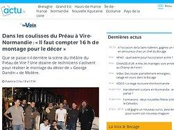 Dans les coulisses du Préau à Vire-Normandie